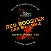 50 ml Glas Red Rooster BAR BQ Sauce-Hahnen1967-FoodProdukte für Gastronomen