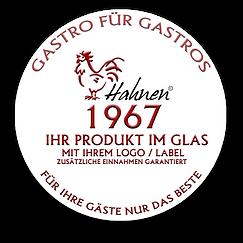 Gastro fuer Gastro_ Ihr Produkt im Glas_