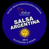 50 ml Glas Salsa Argentina-Hahnen1967-FoodProdukte für Gastronomen