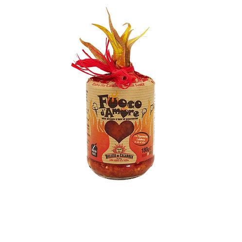 Delizie di Calabria Fuoco d'Amore Chilli Hot Sauce