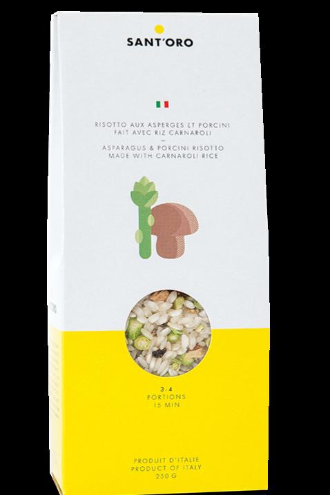 Asparagus & Porcini Risotto