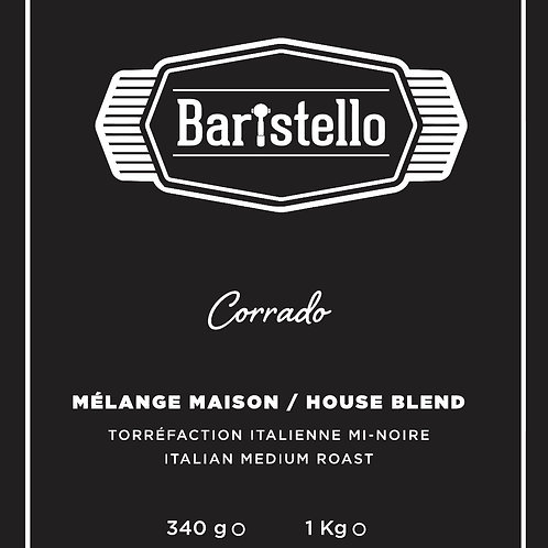 Coffee bag Baristello Corrado Blend (beans)