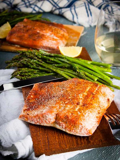 Bbq Maple Cedar Plank Salmon - 8oz