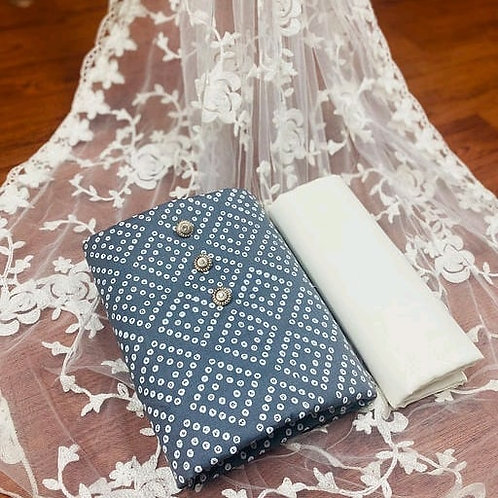 FASDEST® Unstitched Slub Cotton  Dress Material Suit For Women