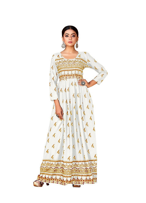 Ladies Long Kurti /Gown/Dress /