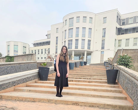 Christina Cottiero at Olusegun Obasanjo Presidential Library and Archives