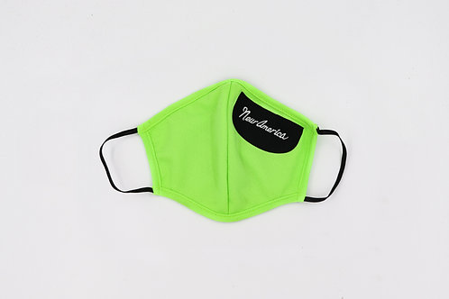 Women's Mask Neon Green