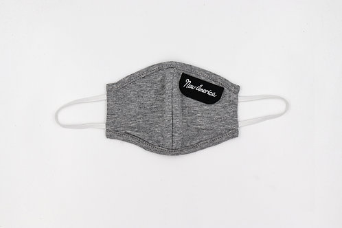 Kid's Mask Grey