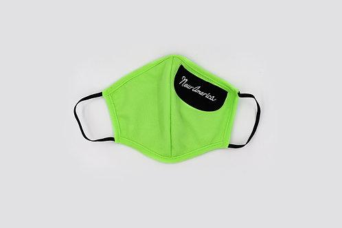 Men's Mask Neon Green