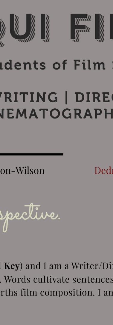 Film Scientists & Cinematographer