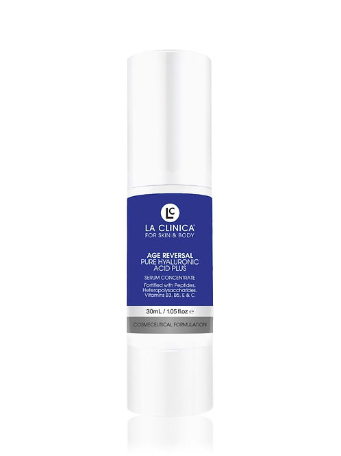AGE REVERSAL PURE HYALURONIC ACID PLUS SERUM CONCENTRATE 30ML