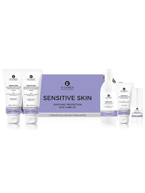 SENSITIVE SKIN SOOTHING PROTECTION SKIN CARE KIT