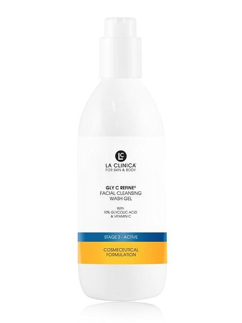 GLY C REFINE FACIAL CLEANSING WASH GEL WITH GLYCOLIC ACID 250ML