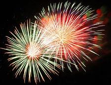 Feuerwerk-Shows