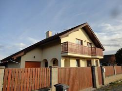 Výstavba RD, Praha-východ, Hovorčov.