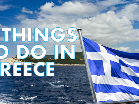 What to do in Greece? VIDEO.