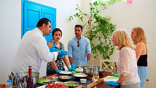 Tours-in-Santorini-Cooking-class-with-Wi