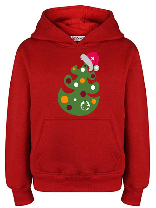 Christmas Hoodie; Christmas Jumper; Santa; Christmas tree