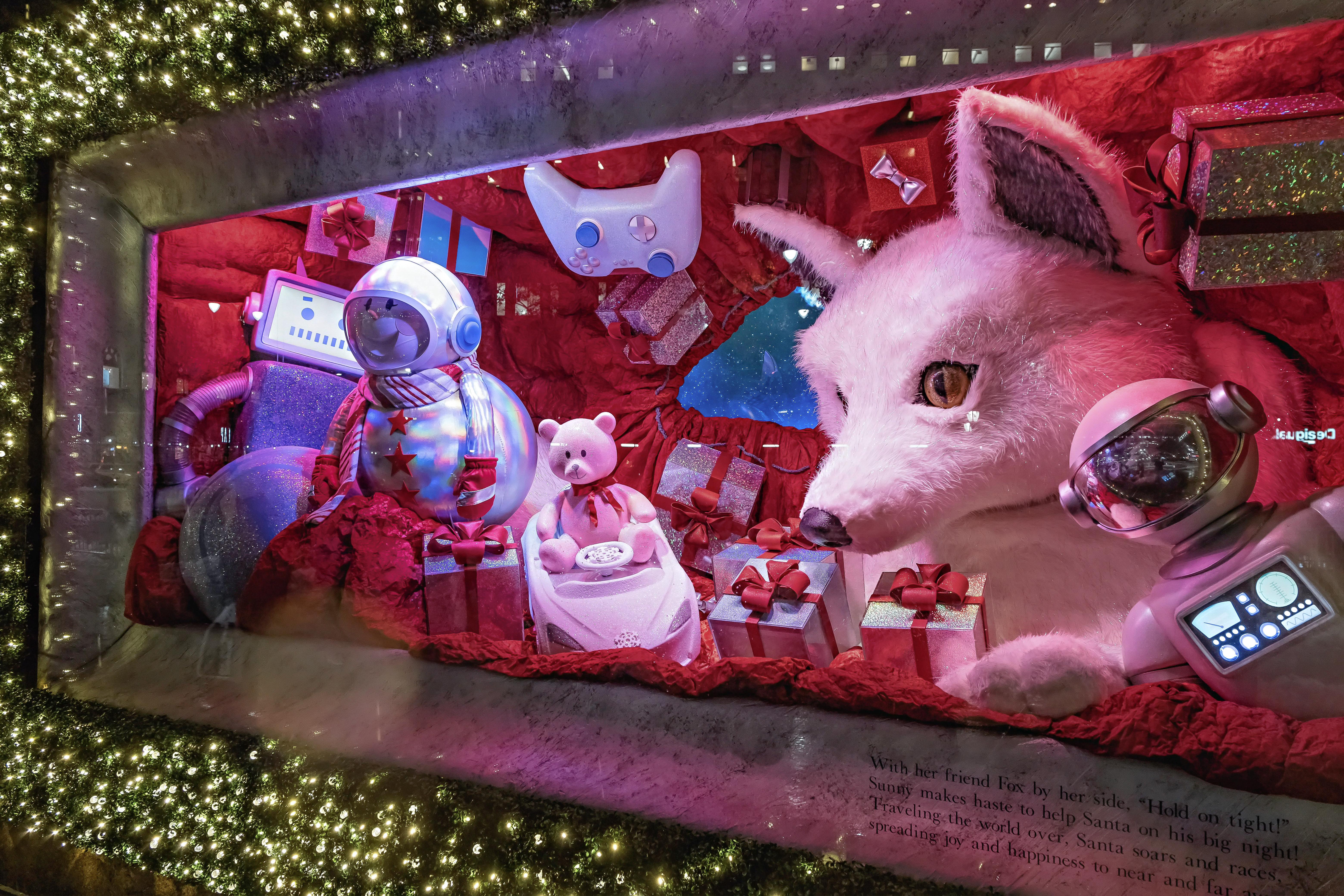 Broadway Holiday windows