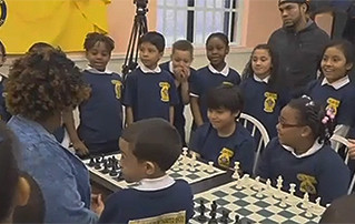 Borough president honors local chess champs