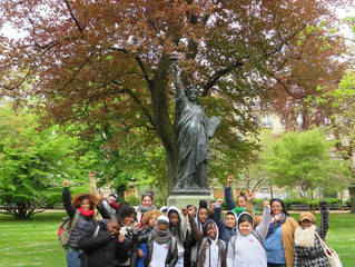 La Cima Elementary Charter School Fifth Graders Travel the World