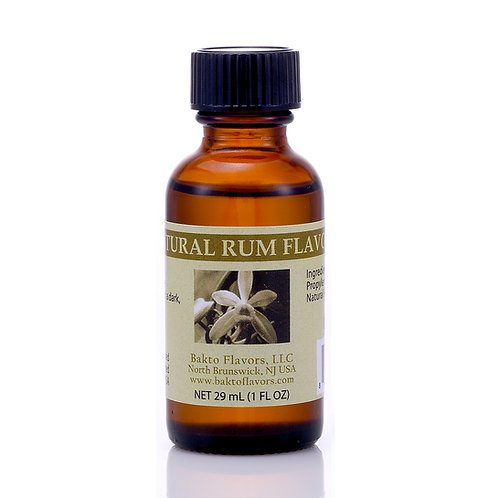 Natural Rum Flavor