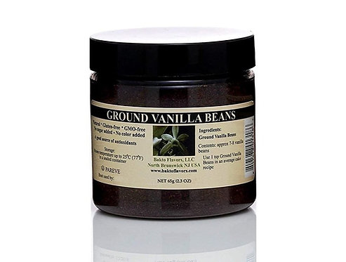 Pure Ground Vanilla Beans from Madagascar - 65g