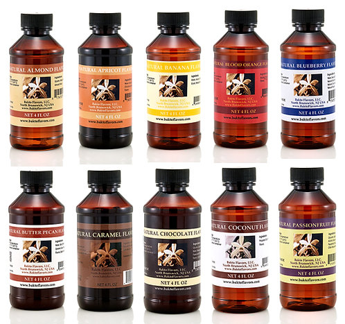 PICK YOUR OWN 4 OZ - 3 Bottles - Natural Flavors Collection