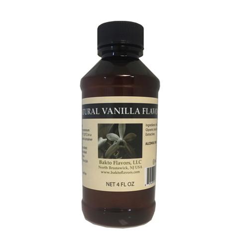 Natural Vanilla Flavor - 4 FL OZ