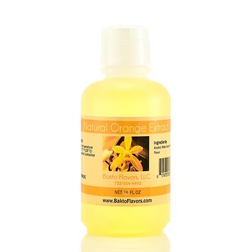 Natural Orange Extract - 16 OZ