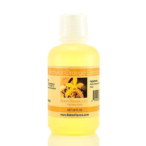 Natural Orange Extract - 18 OZ