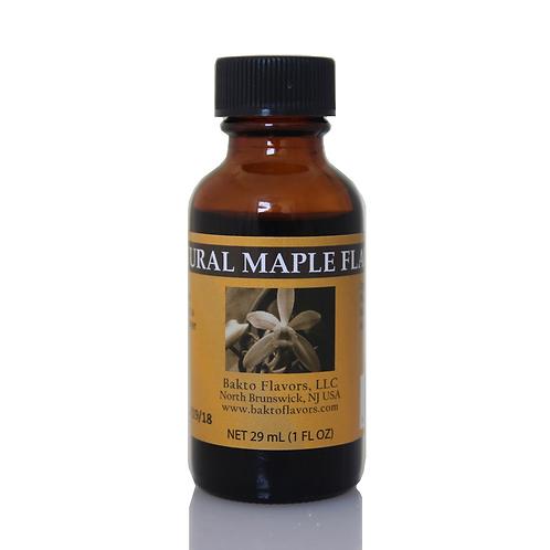 Natural Maple Flavor