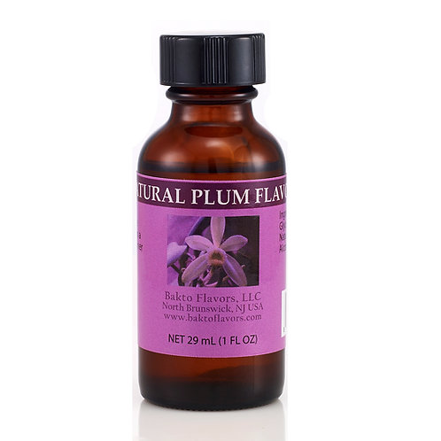 Natural Plum Flavor