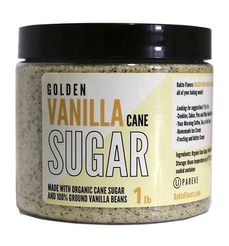 Golden Vanilla Cane Sugar