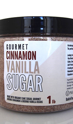 Gourmet Cinnamon Vanilla Sugar