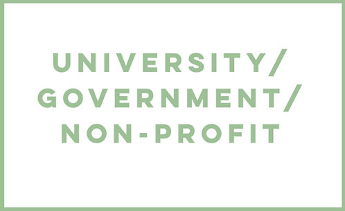 University/Government/Non-Profit