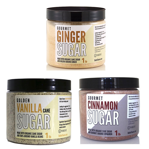 Sugar Pack 1 - Ginger, Vanilla, Cinnamon