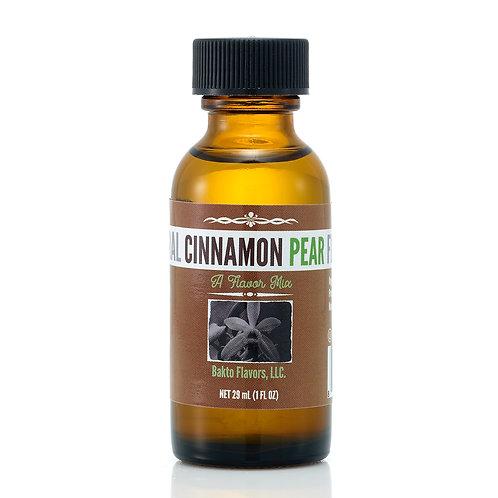 Natural Cinnamon Pear Flavor
