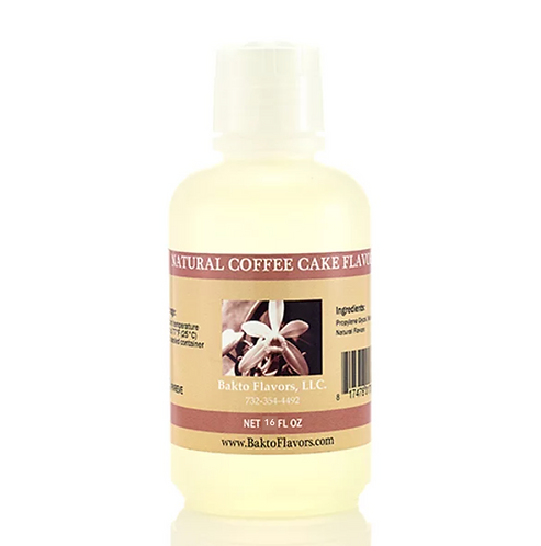 Natural Coffee Cake Flavor