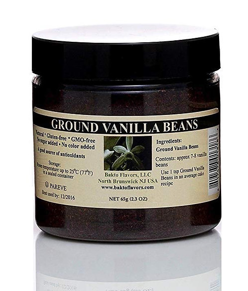 Pure Ground Vanilla Beans from Madagascar
