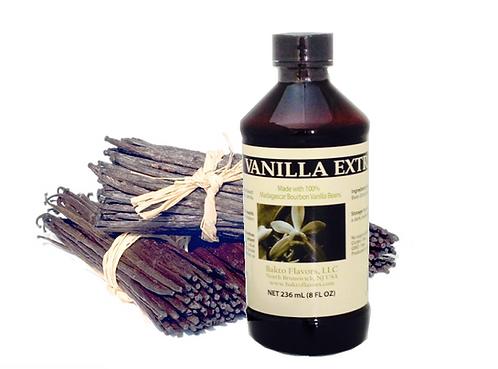 Pure Vanilla Extract - 100% Madagascar Bourbon