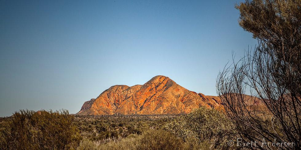 West MacDonnell Ranges, Alice Spring, NT, Australia.