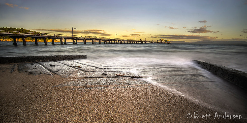 Picnic Bay Jetty, Magnetic Island, Townsville, Australia.