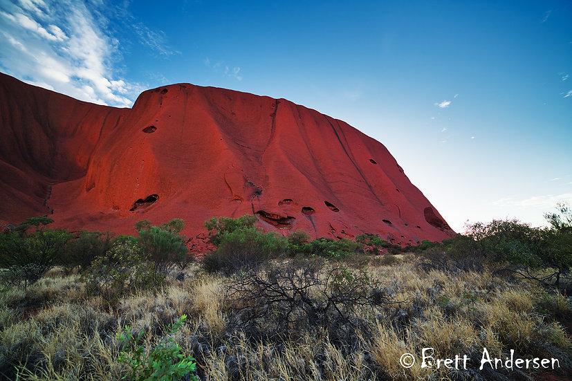 Uluru (Ayers Rock), Northern Territory, Australia.