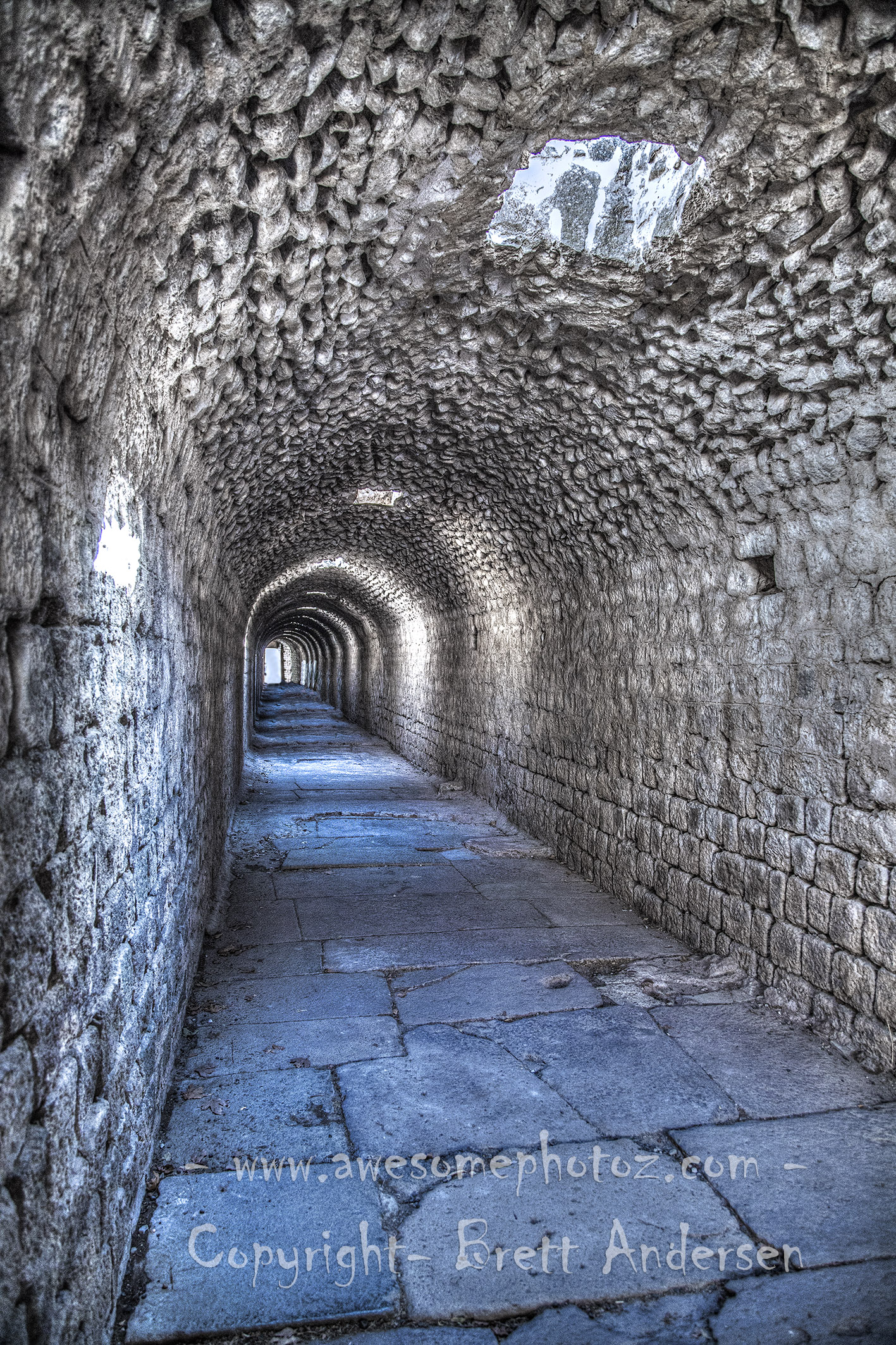 Asclepion of Pergamum-Tunnel - Web