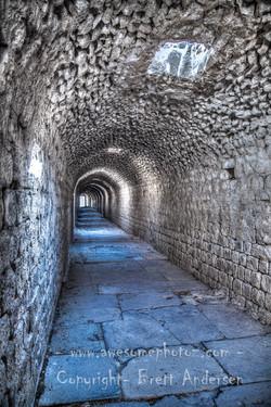 Asclepion of Pergamum-Tunnel - Web