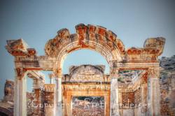 Ephesus - Temple of Hadrian-Web