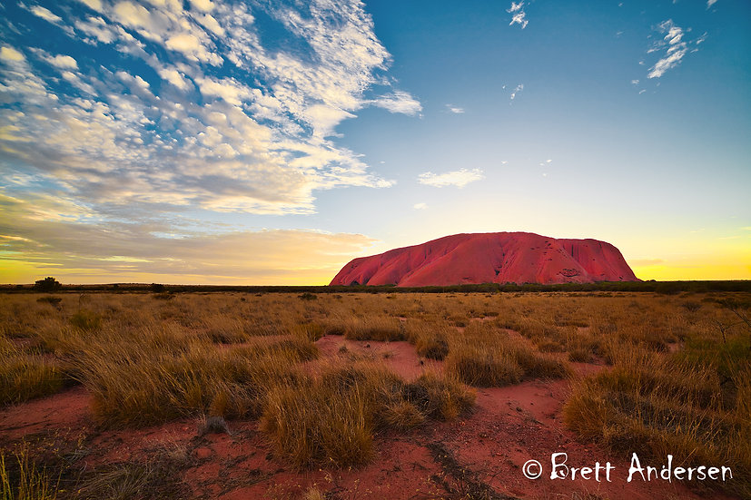 Sunrise at Uluru (Ayers Rock), Northern Territory, Australia.