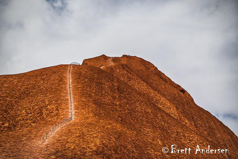 The Climb, Uluru (Ayers Rock), Northern Territory, Australia.
