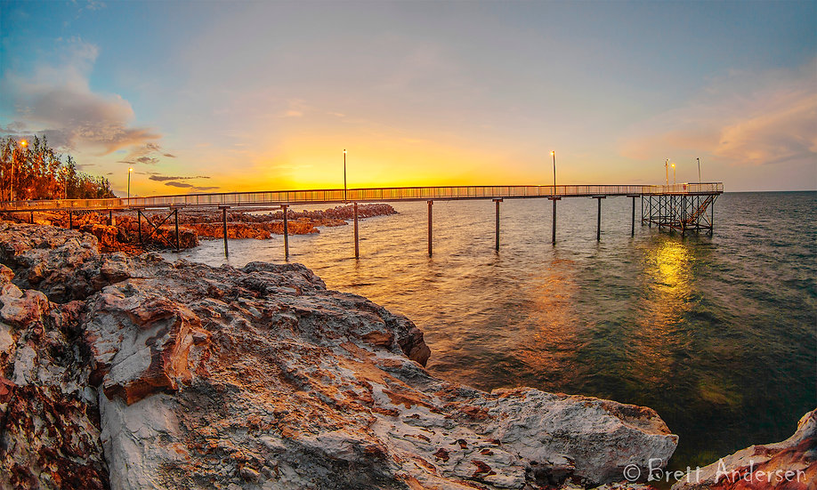 Nightcliff Jetty,Darwin, Northern Territory, Australia.
